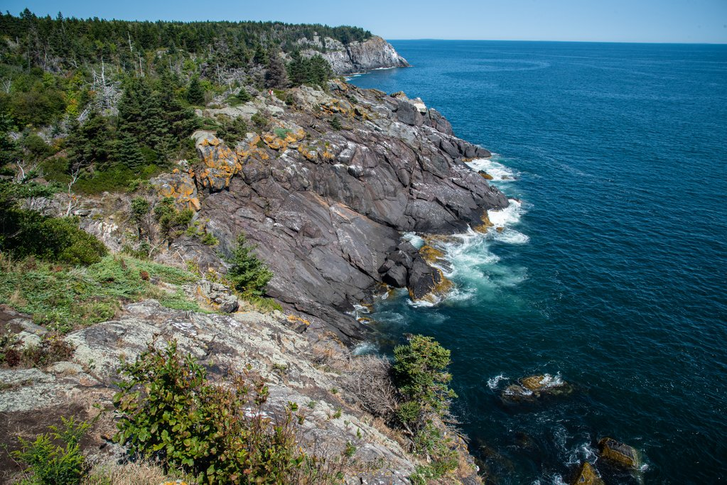 Cliffs on Monheagan Island