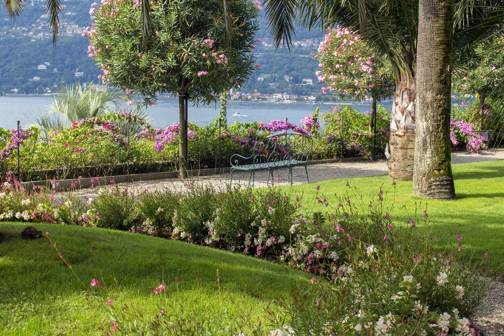 The beautiful gardens of Isola Madre