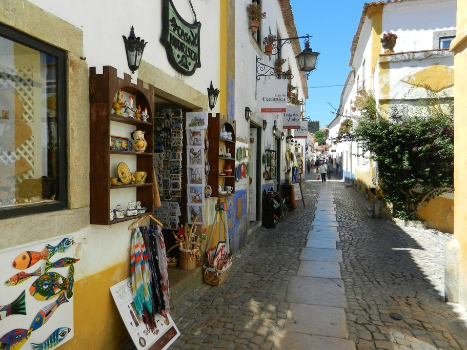 Colorful Medieval Streets of Óbidos
