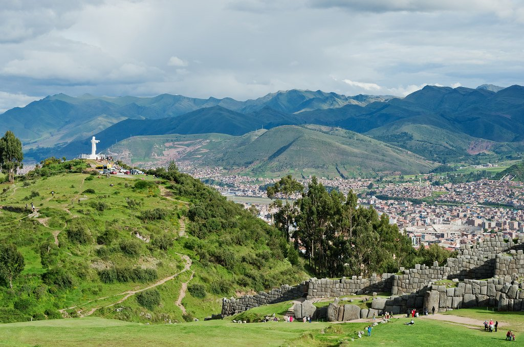Sacsayhuaman ruins, just outside of Cusco