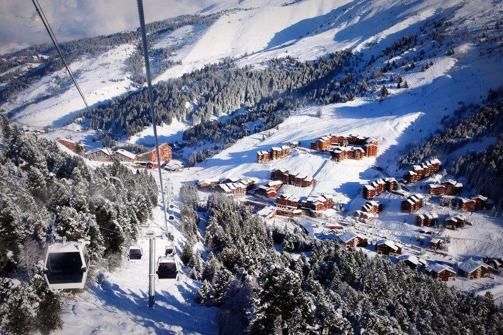 France - Meribel-Mottaret - Trois Vallées ski area