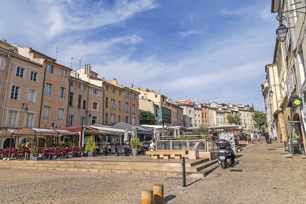France - Aix-en-Provence - Market