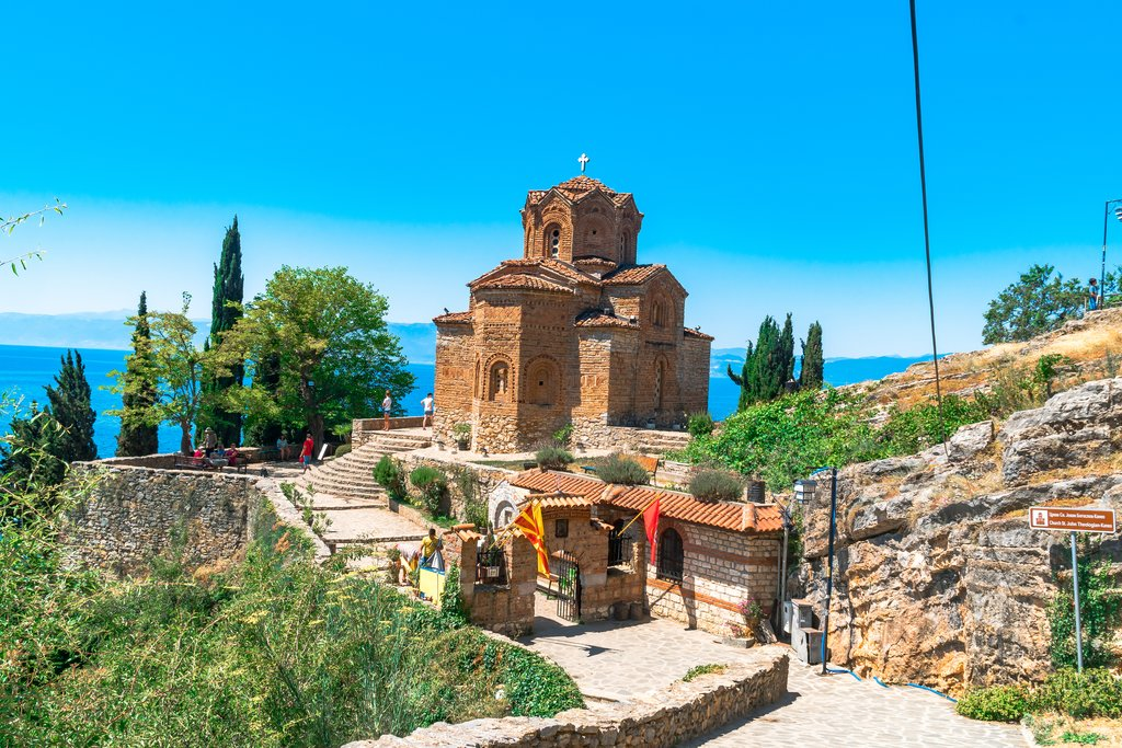 Famous Views of St. John Church, Ohrid
