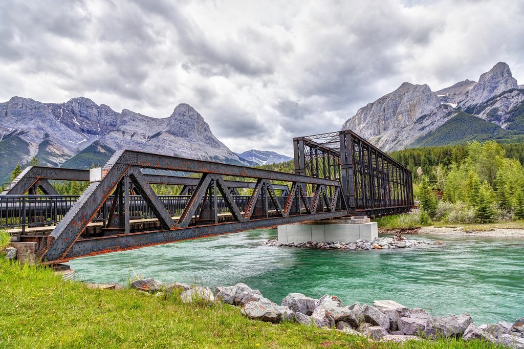 Canmore Engine Bridge over the Bow River