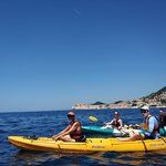 Kayak to Lokrum Island near Dubrovnik