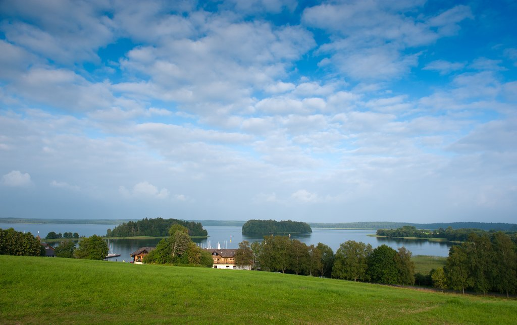 Panoramic View of Lake Plateliai in Zemaitija National Park
