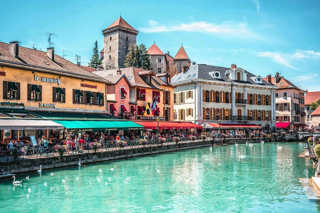 Thiou Riverside in Annecy