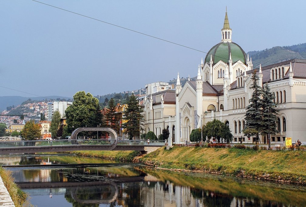 Academy of Fine Arts in Sarajevo (c) Stolbovsky
