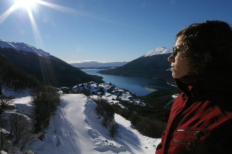 The view from Paso Girabaldi