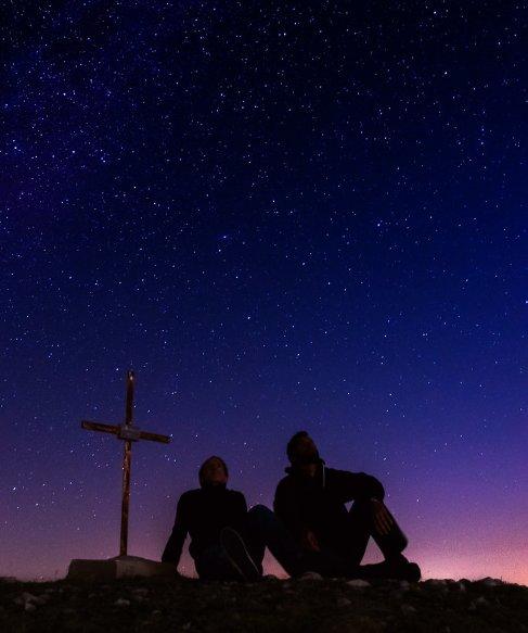 Stargazing in the Night Sky