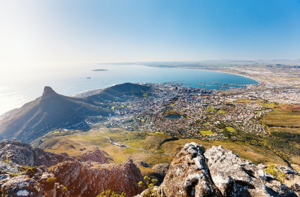 Table Bay view from Table Mountain