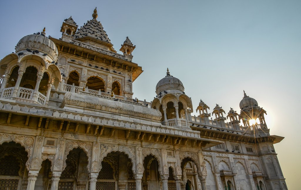 The spectacular Jaswant Thada was built by Maharaja Sardar Singh in 1899