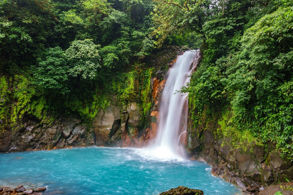 Waterfall in Tenorio