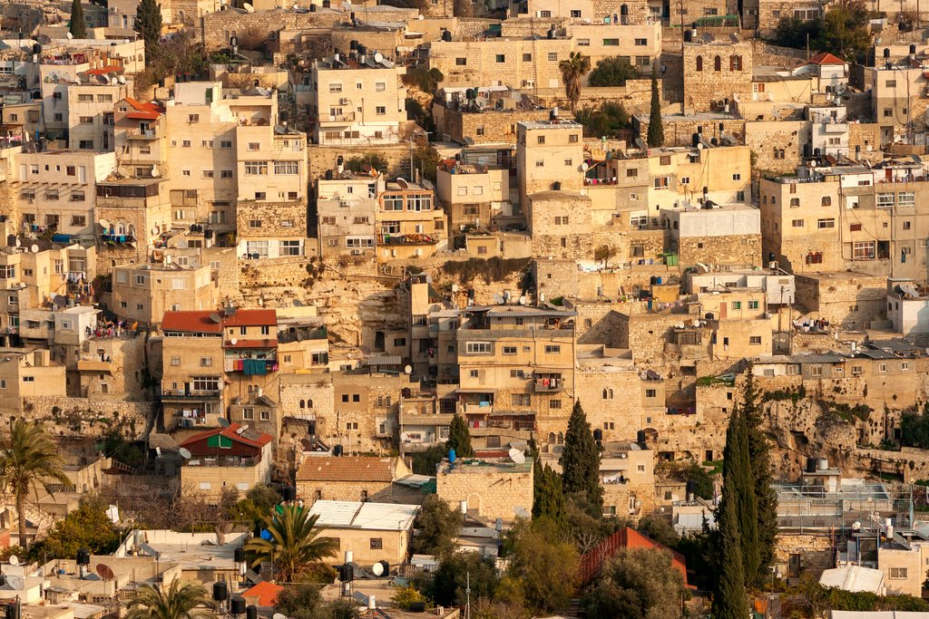 Residential neighborhood in East Jerusalem