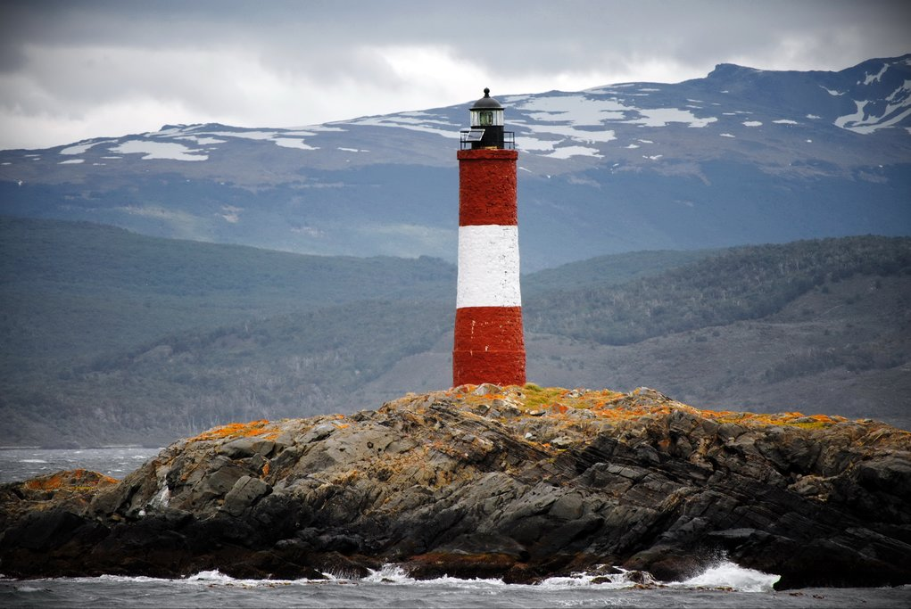 Les Eclaireurs Lighthouse in Beagle Channel