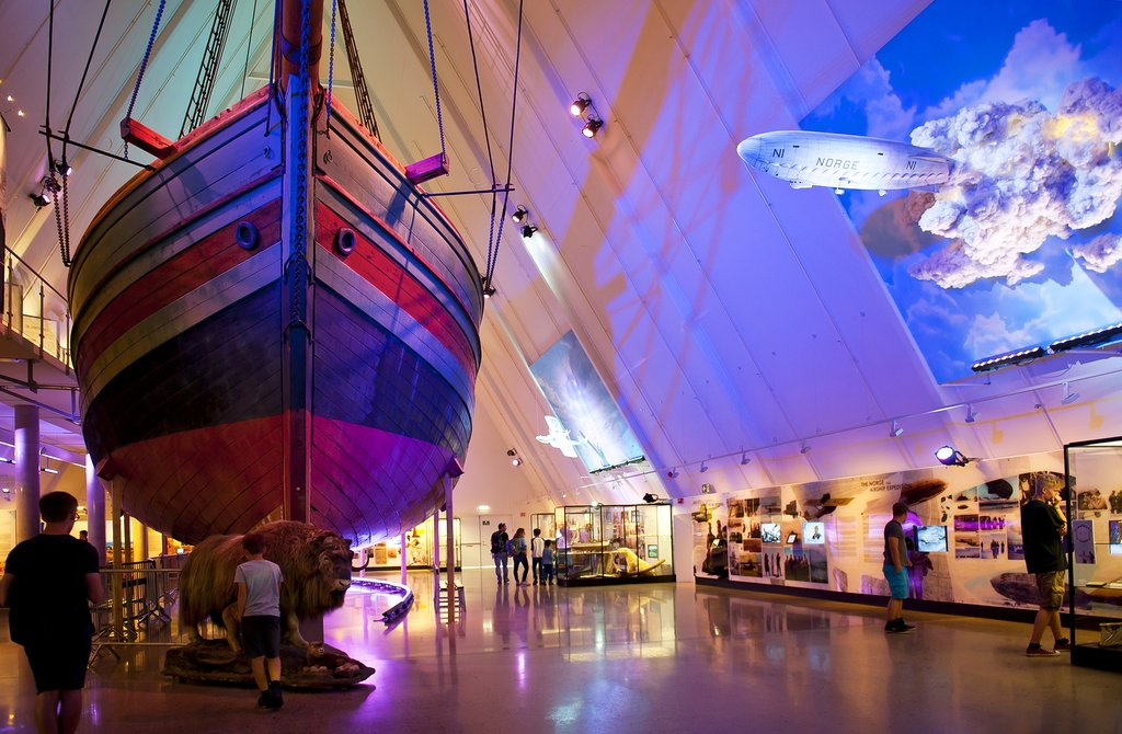 Learn about the history of polar exploration at Oslo's Fram Museum.