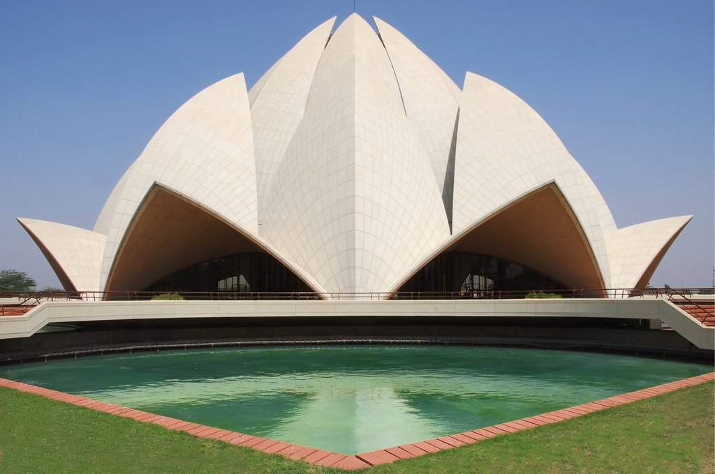 New Delhi's Lotus Temple