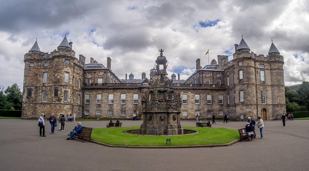 Scotland - Edinburgh - holyrood Palace