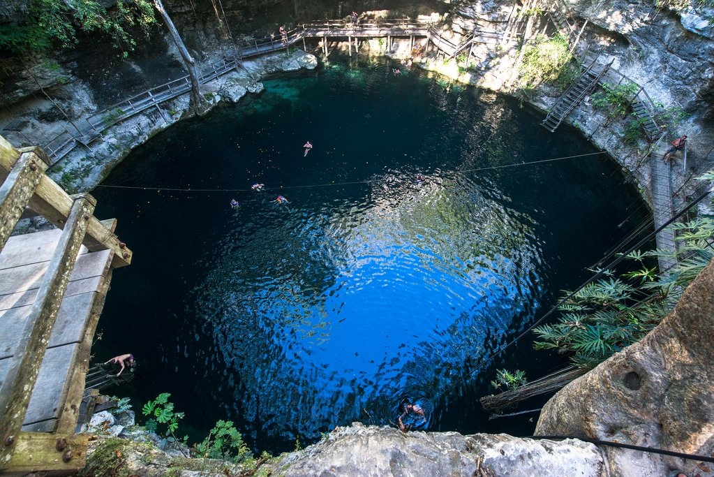 Cenote X'Canche in Mexico