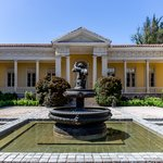 One of the elegant vineyard mansions in Maipo Valley