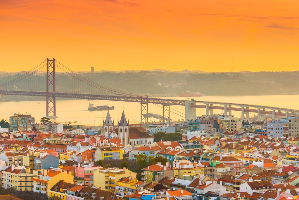 Sunset in Lisbon