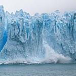 The ice walls of Grey Glacier