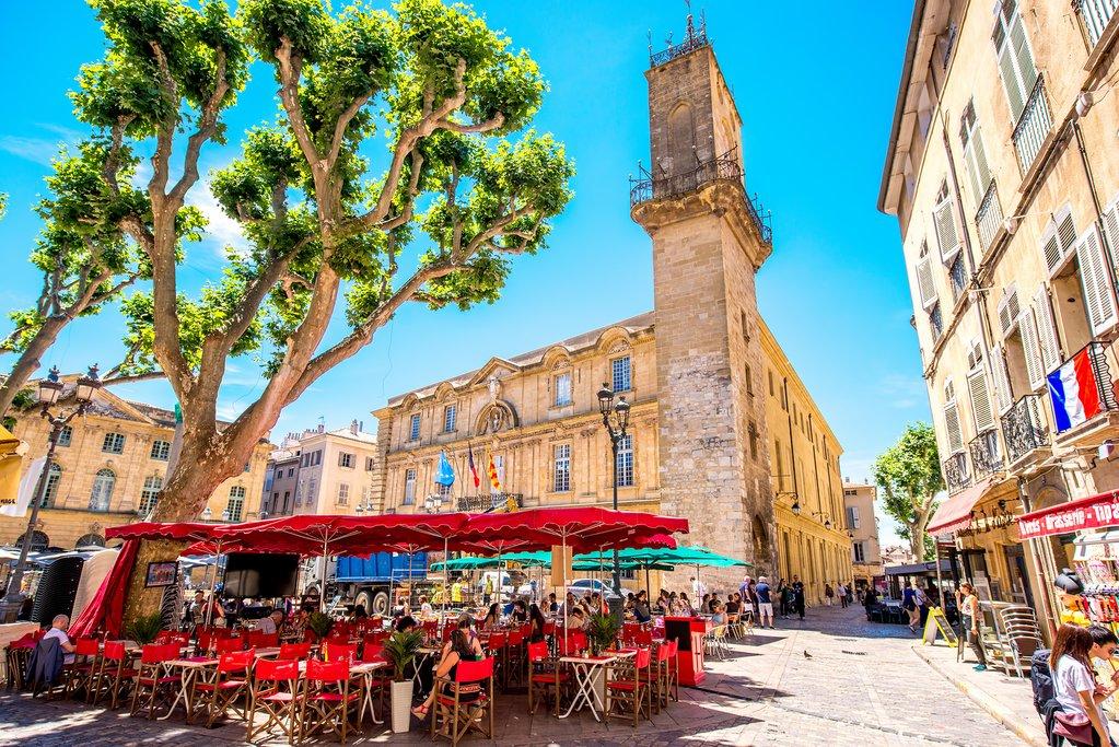 Streetlife in Aix-en-Provence