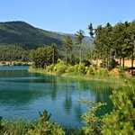 Triple Swim: Waterfall, Lake & Sea on the Peloponnese