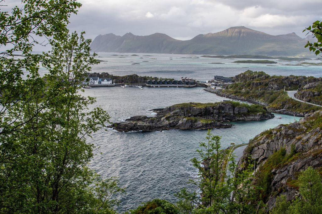 Senja is a great place for day hikes and photography even on a rainy day