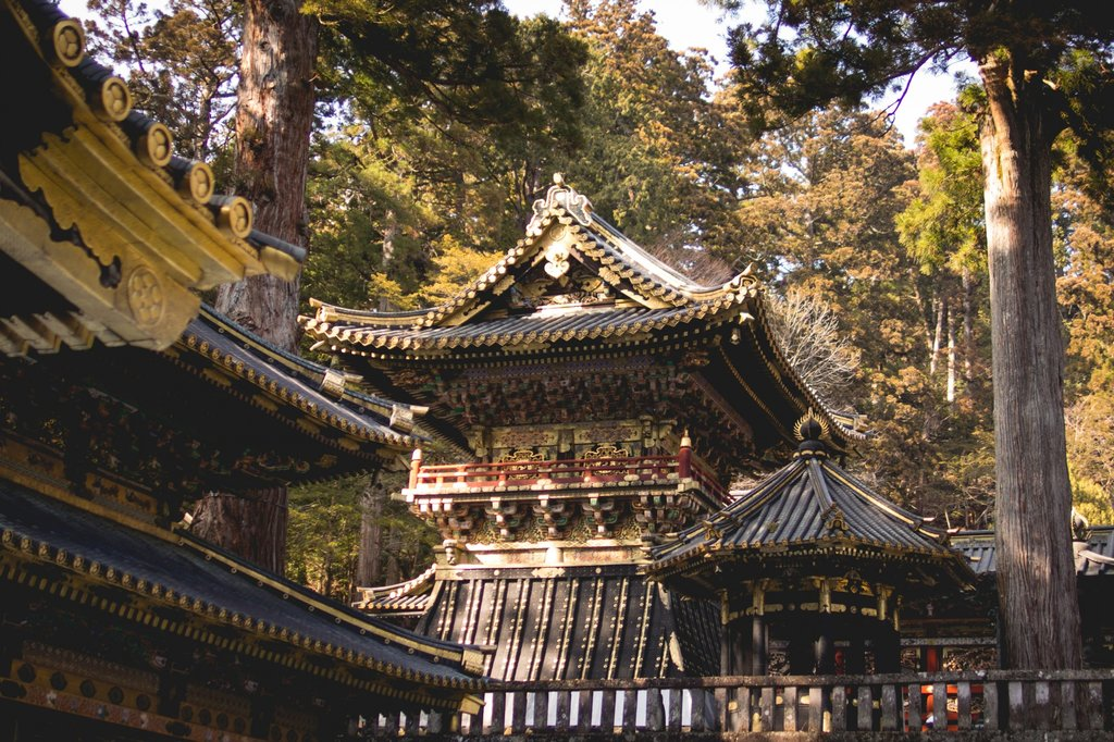 A view of Toshogu shrine
