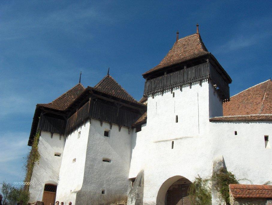 Viscri's UNESCO fortified church