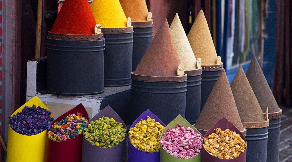 Spices in Fez