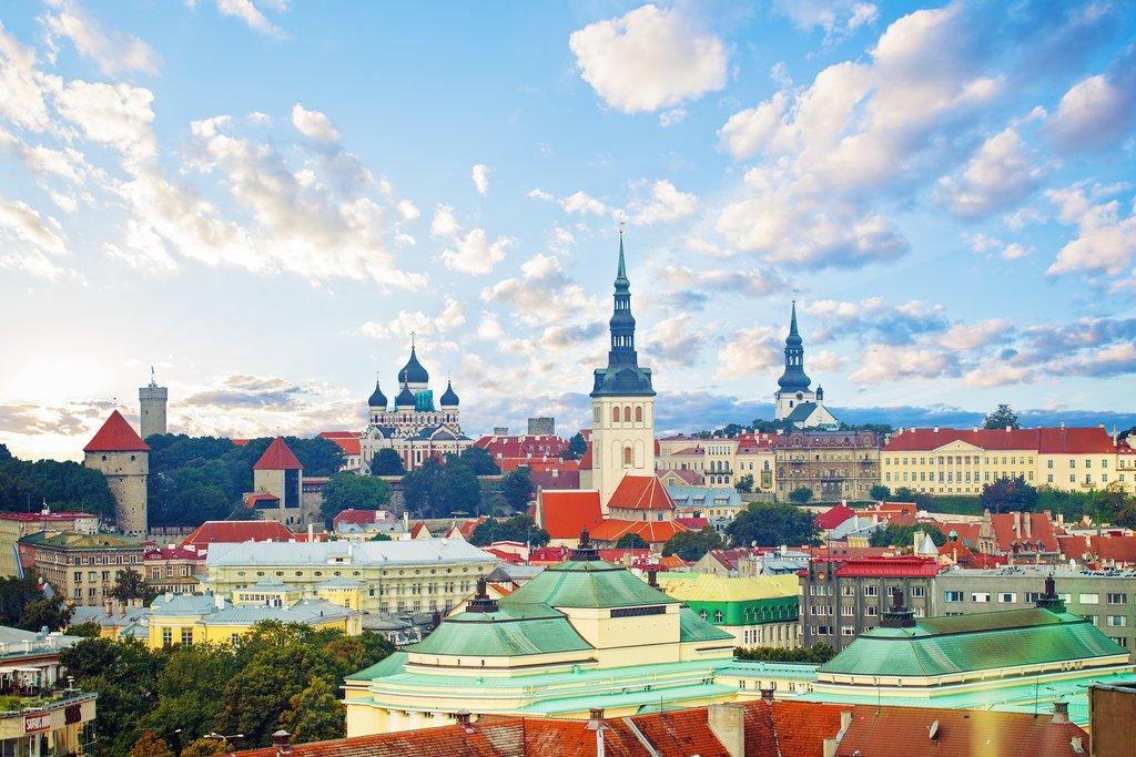 The Tallinn skyline