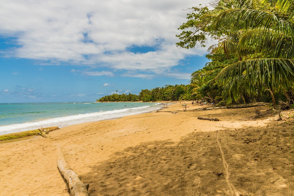 The inviting beaches of Puerto Viejo
