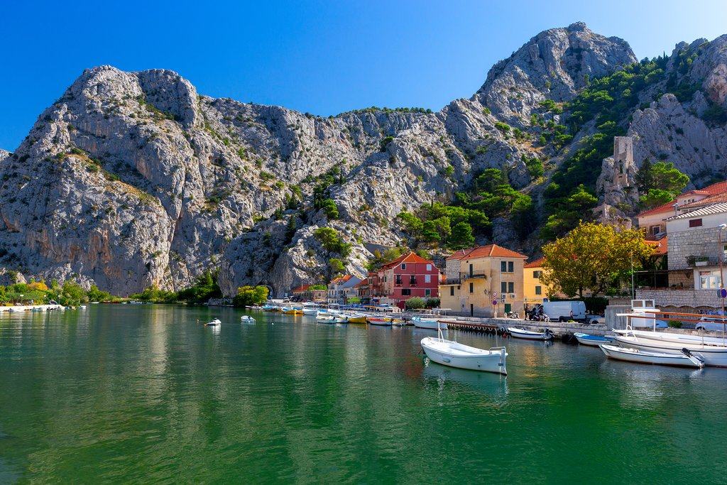 Harbor of Omiš