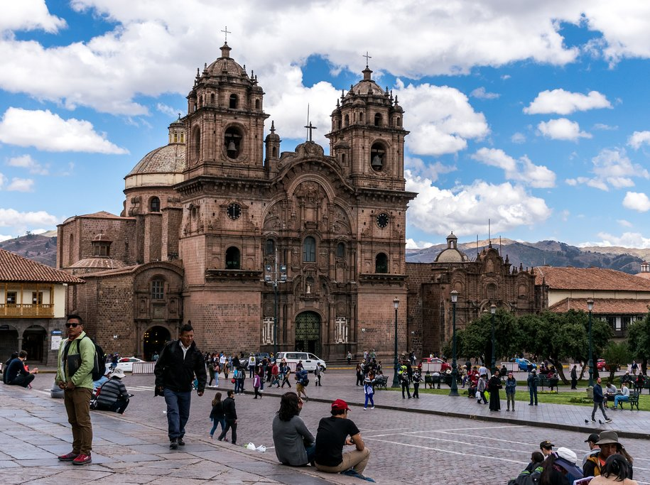 Sightseeing in the ancient Inca capital of Cusco