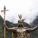 Statue of Incan Emperor Pachacuti
