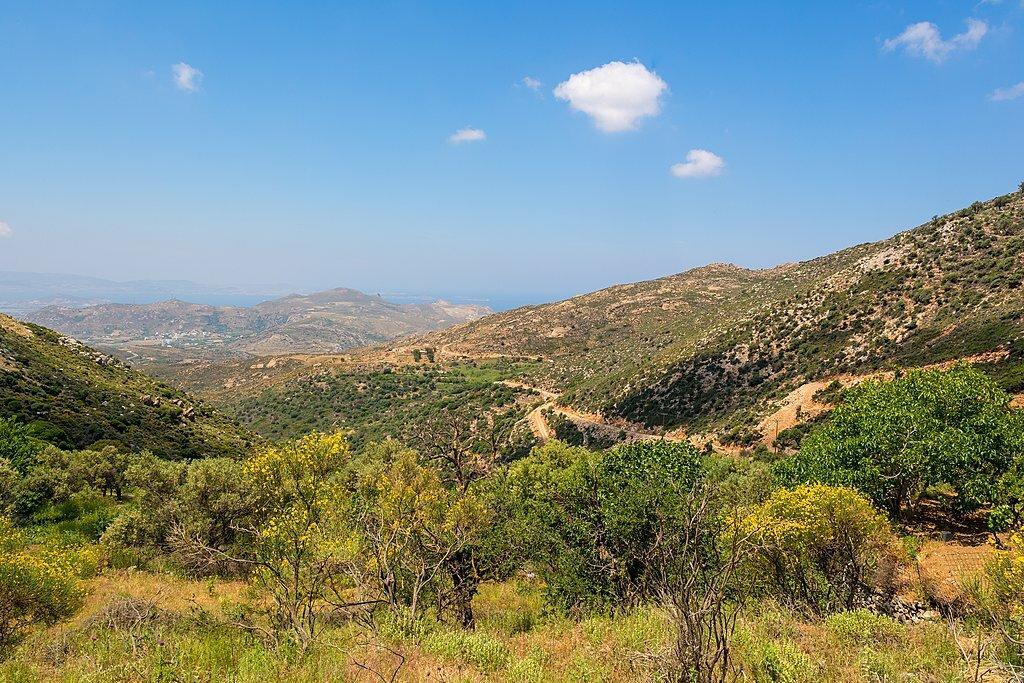 Naxos trails