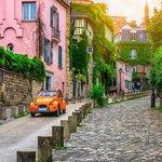 Quiet street in Montmartre