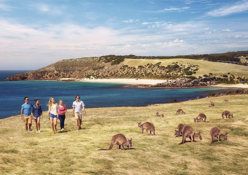 Kangaroo Island's inhabitants