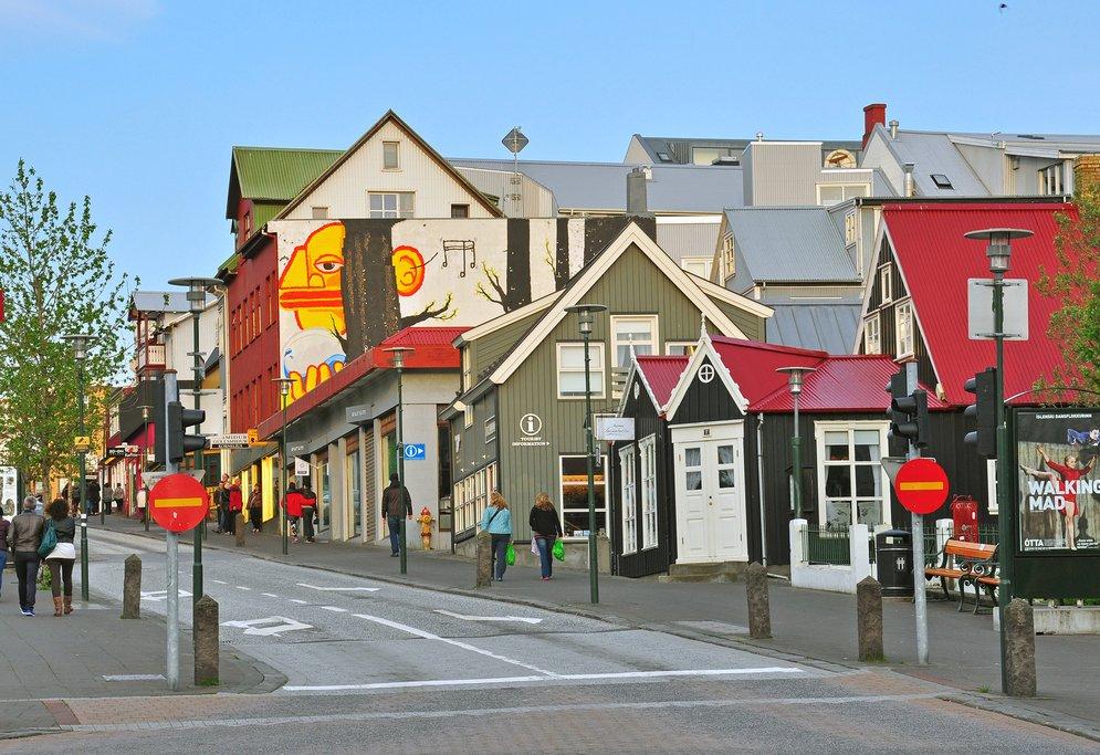 Reykjavik's walkable streets