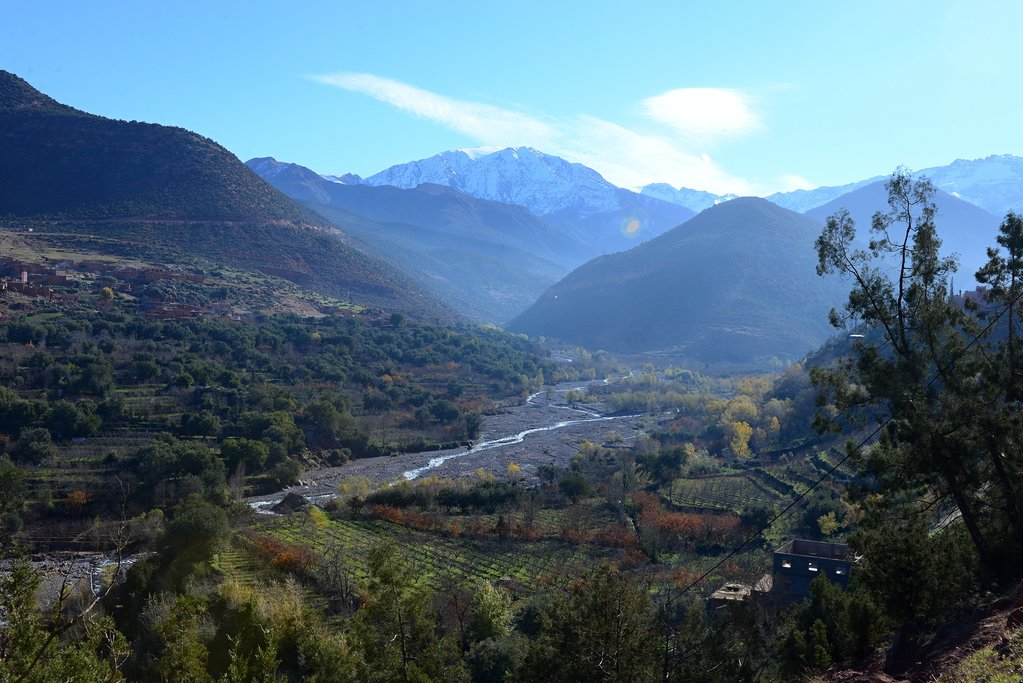 How to Get to the High Atlas Mountains