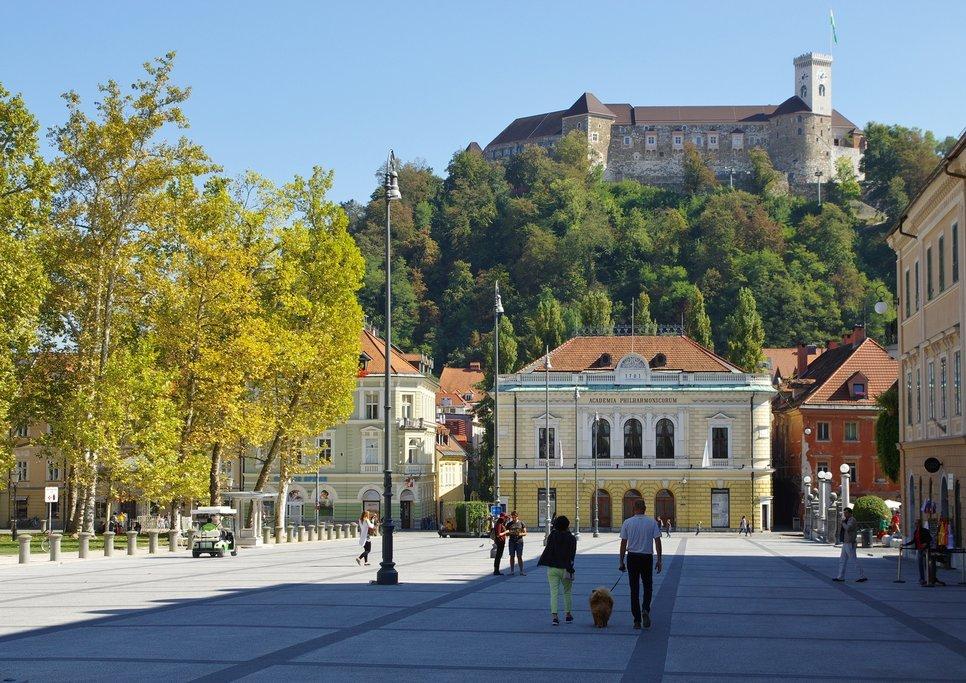 How to Get from Goriška Brda to Ljubljana