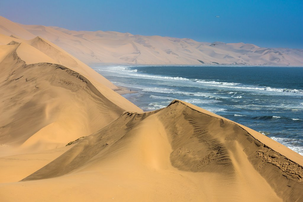 Sand dunes in Walvis Bay