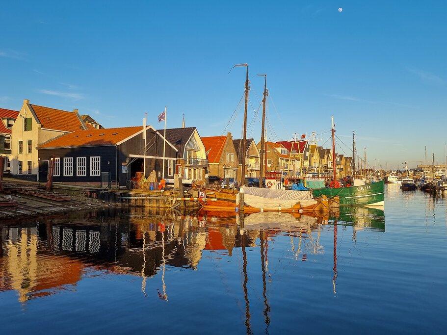 Harbour in Urk