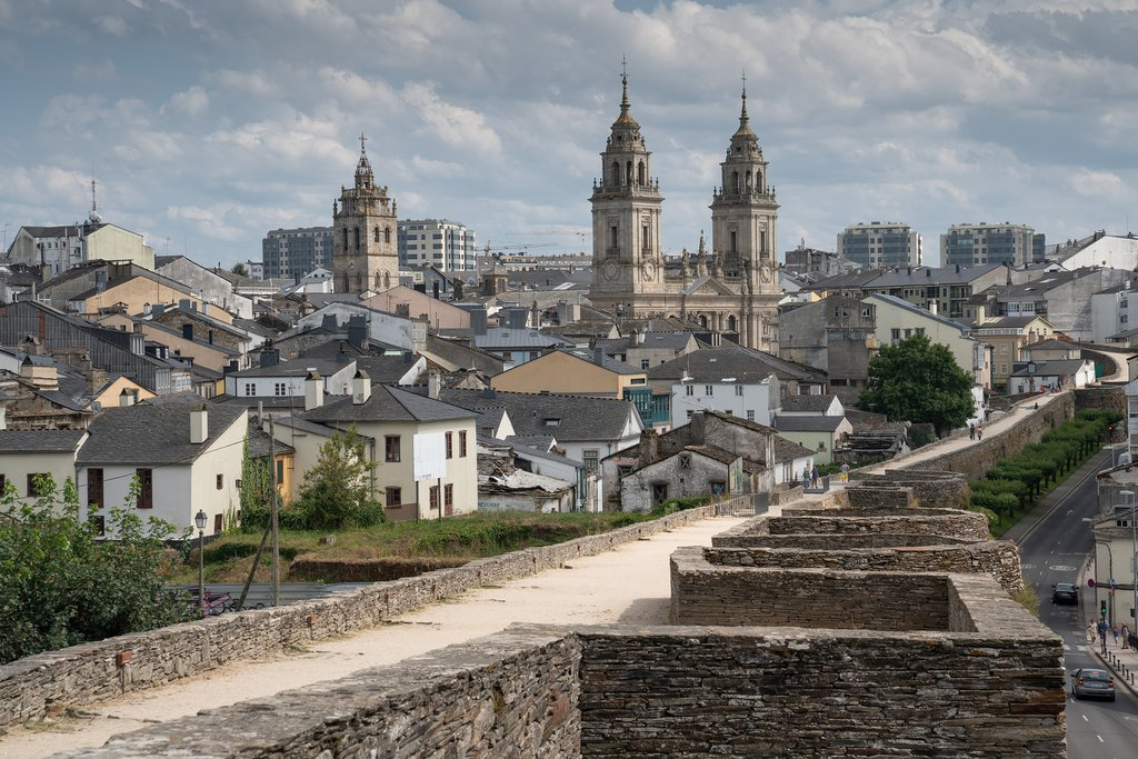 Take a stroll along the walls of Lugo