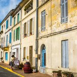 Traditional homes in Bourg sur Gironde
