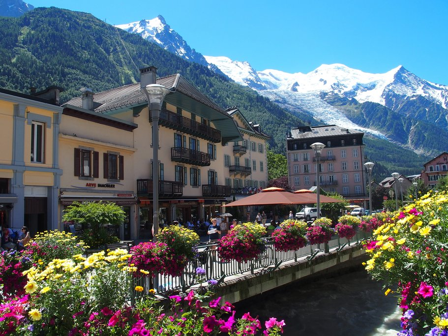 Chamonix in bloom