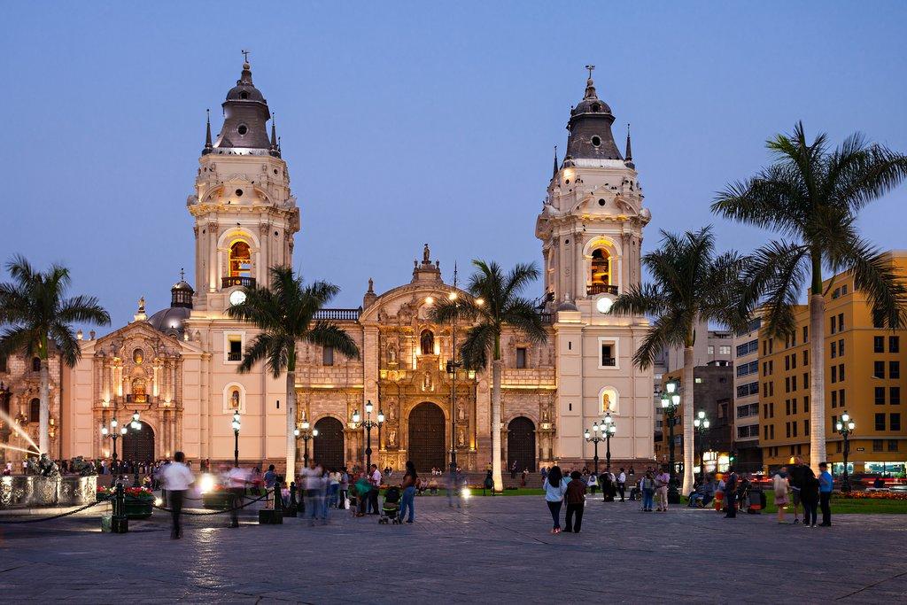 Spanish architecture in Peru's capital