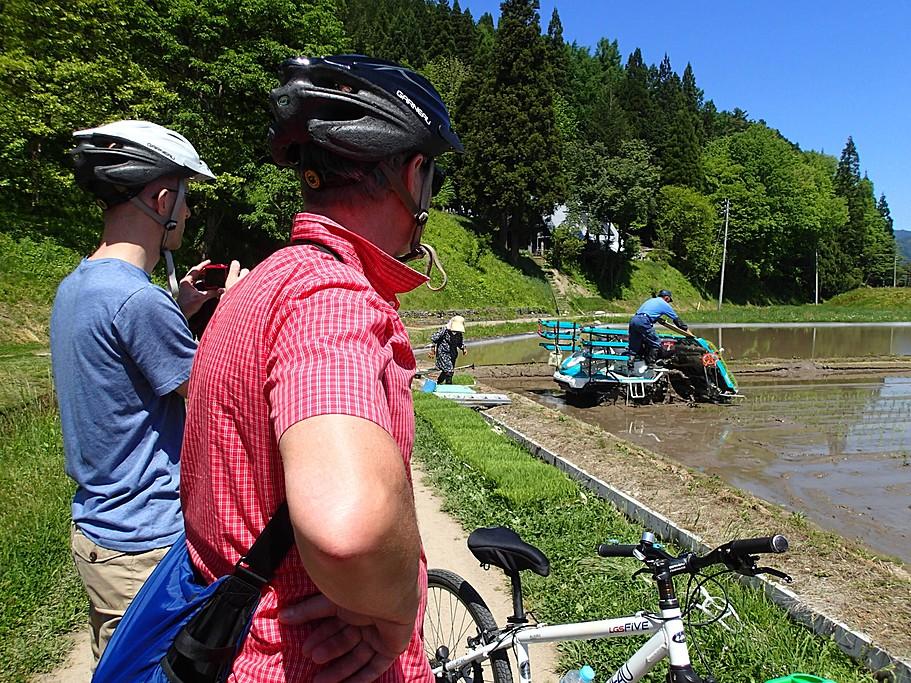 Cycling in Rural Takayama